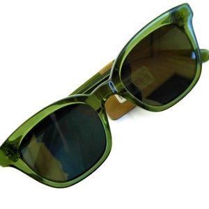 Madewell Accessories - New Madewell Sunglasses  Flat Frame Green